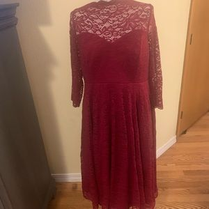 Torrid red semi formal dress NWT
